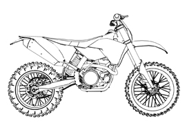 dirt bike dual sport enduro