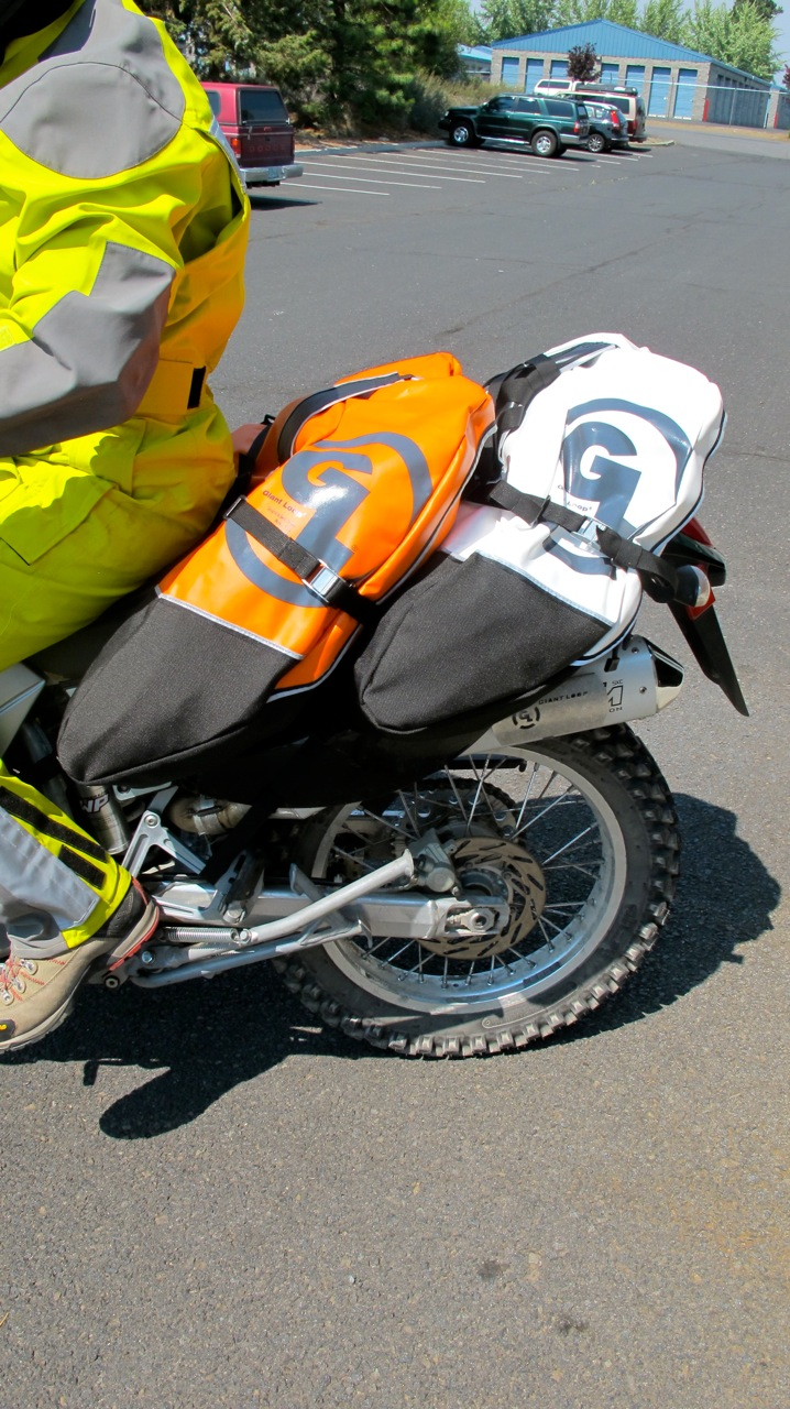 Giant Loop Rider Dimitri Rides His Ktm 640 Adventure With