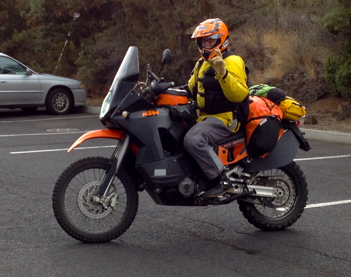 Giant Loop Rider Kail Visits On Oregon Backcountry Tour