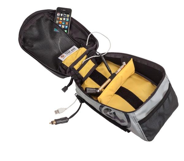 Diablo Pro Tank Bag interior electronics