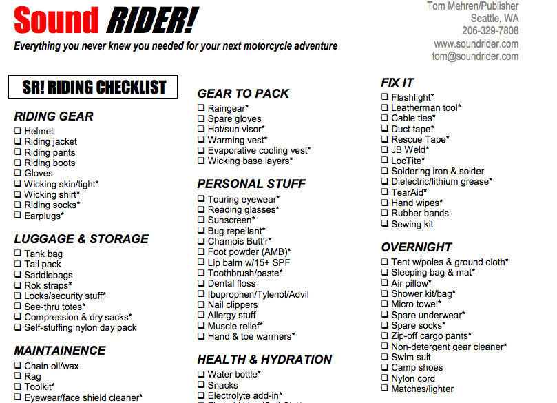 Car repair checklist template 12