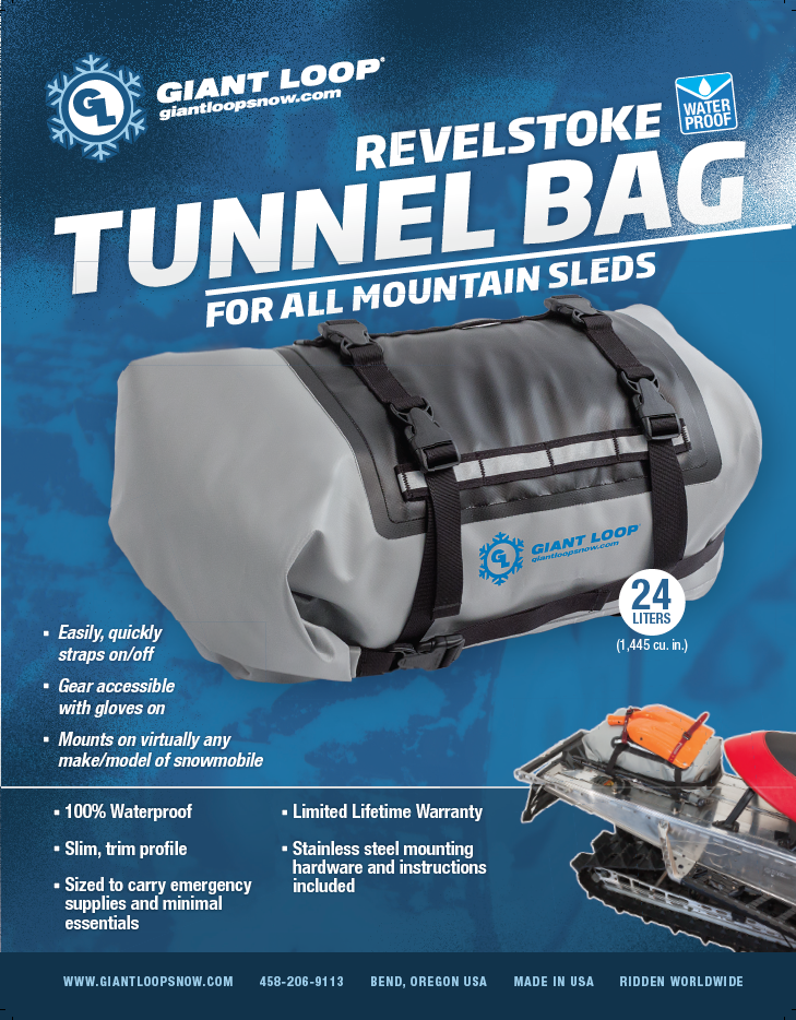 Revelstoke Tunnel Bag features