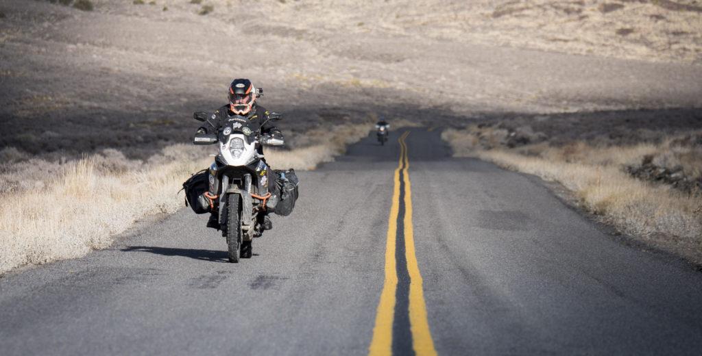 Tolga Basol, Ride Must Go On! on KTM 1190 Adventure with Giant Loop