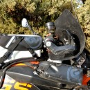 Kiger Tank Bag profile on BMW motorcycle