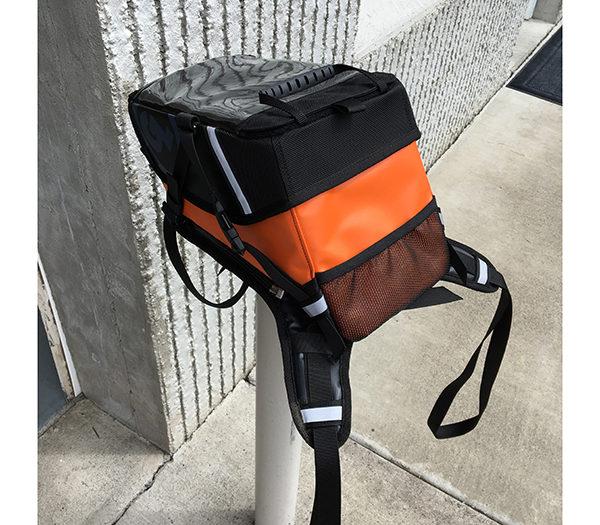 limited edition orange kiger tank bag