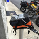 limited edition orange kiger tank bag