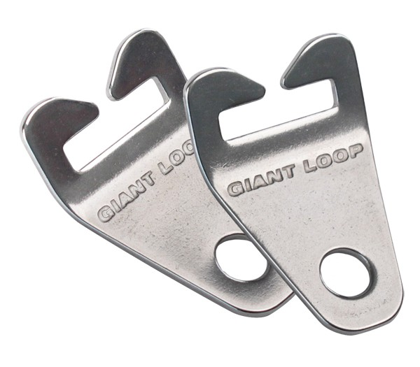 Giant Loop Mounts Stainless Steel hardware for mounting motorcycle luggage
