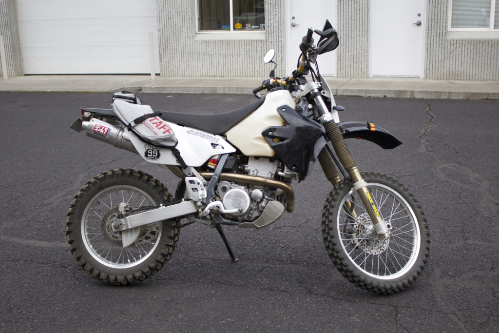 Suzuki DRZ400 Trail Tech Voyager, Race Tech Suspension, Double Take Mirror