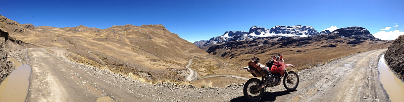 BoliviaMotors South America adventure with Coyote Saddlebag