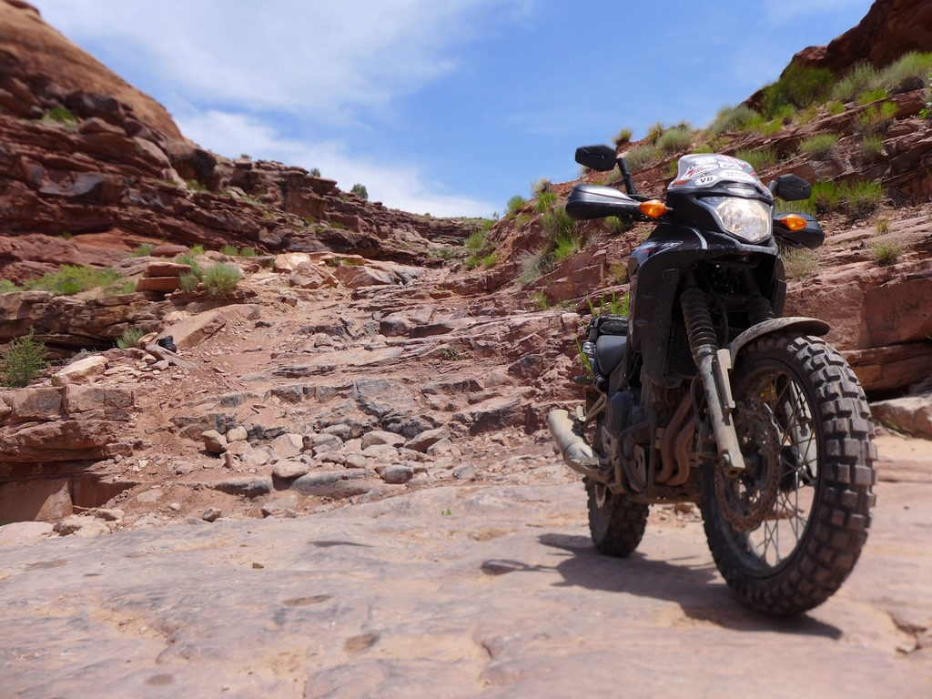 Rally Raid Products Honda CB500X Adventure in Moab, UT