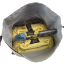 waterproof snowmobile tunnel bag w organizers for safety and survival gear