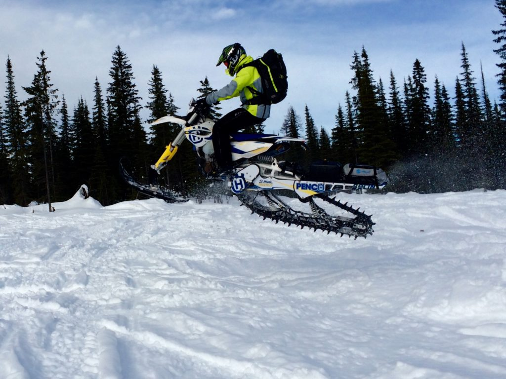 Husqvarna 501 Timbersled w Giant Loop Snow