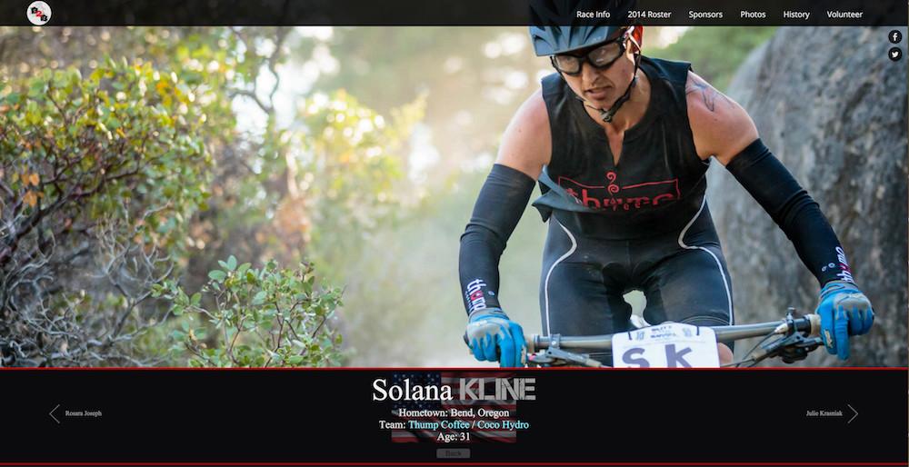 Solana Kline at Blitz to the Barrel