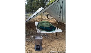 Vargo Stove with Camping Setup