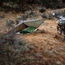 Camping Tarp with Bivi
