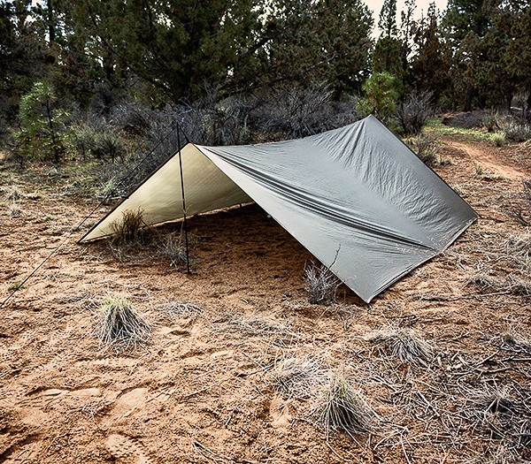 Giant Loop Shelter Tarp 100 setup