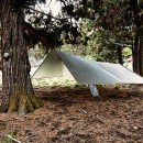 Tarp with Prong Horn Strap
