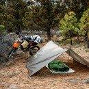 GL Shelter System Camping Setup