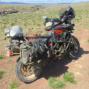 giant loop round the world motorcycle panniers