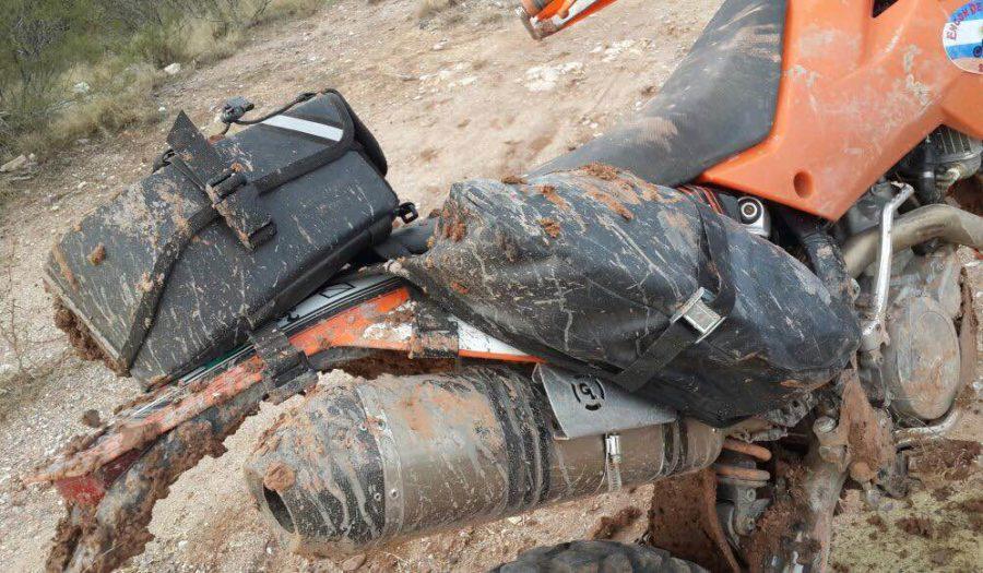 MoJavi Saddlebag and Klamath Tail Rack Pack