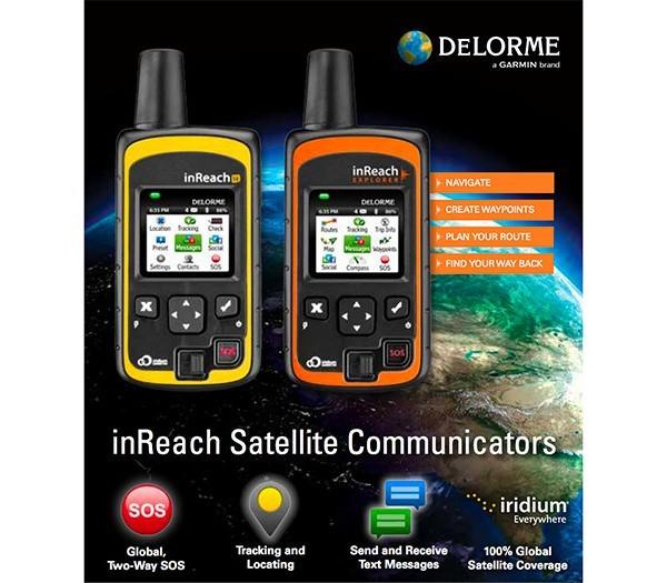 DeLorme inReach SE and DeLorme inReach Explorer