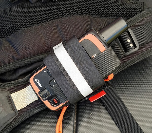 Tracker Packer holster for DeLorme inReach
