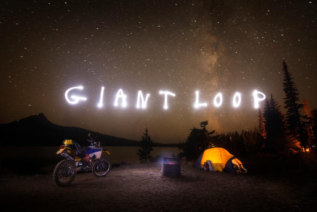 giant loop camping