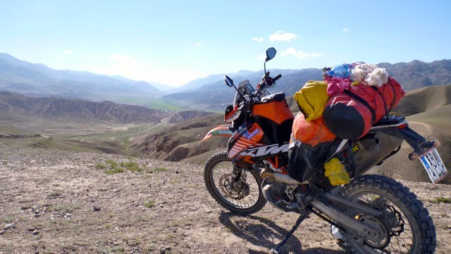 David Darcy KTM 690 London to Sydney