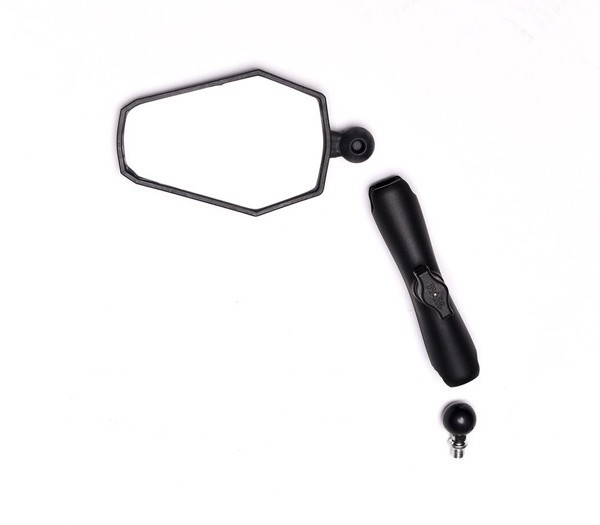 Doubletake Mirror adventure with Ram Mounts arm and ball attachment