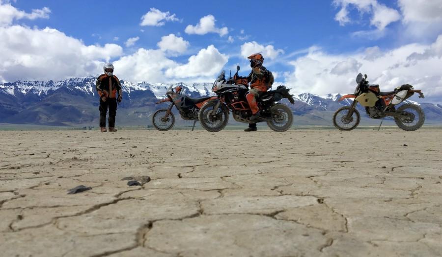 Giant Loop Ride Alvord Desert Oregon