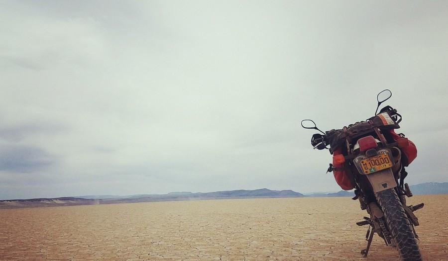 Alvord Desert Motorcycle