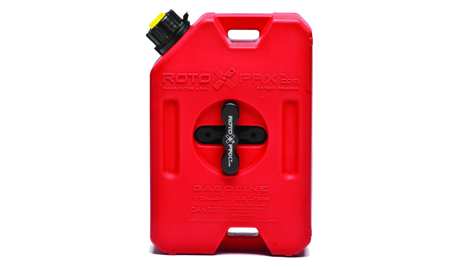 Rotopax 1G Gas Container with standard mount (sold separately)