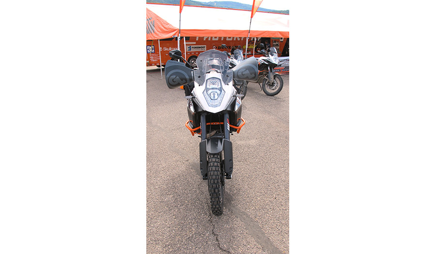 Bushwackers Hand Guards on KTM 1190