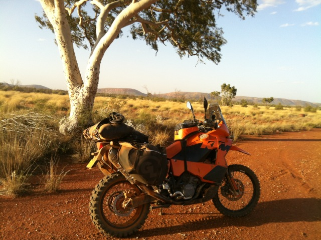 KTM 950 Adventure with Siskiyou Panniers