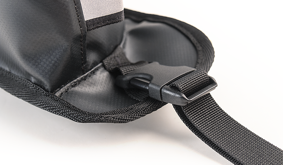 Pannier Pockets stay because tension is drawn against the anchor points to keep them tight