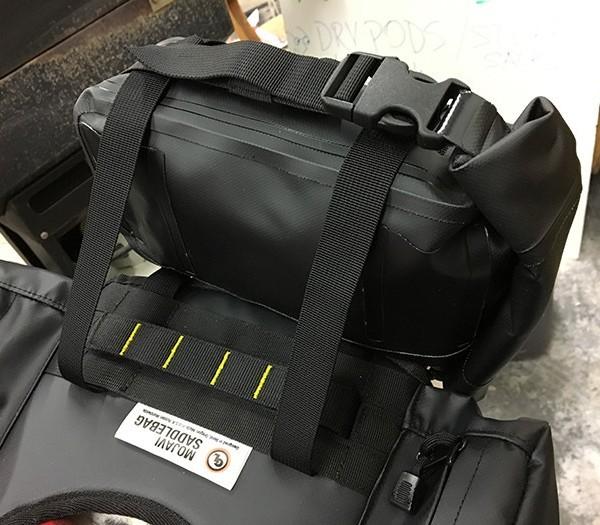Possibles Pouch mounts to MoJavi Saddlebag