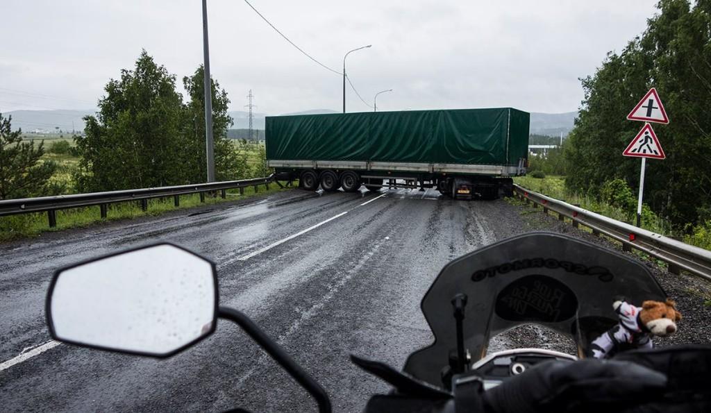 tolga truck crossing