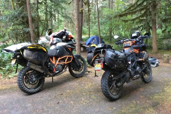 Siskiyou Panniers on KTM 1190 and BMW F800