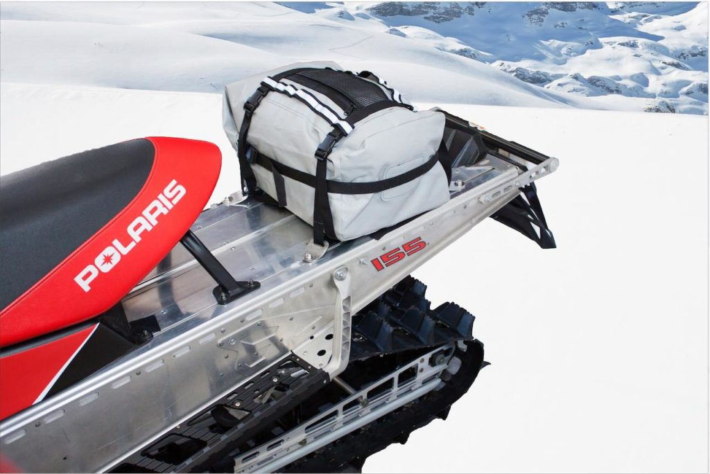 Torngat Tunnel Bag on sled