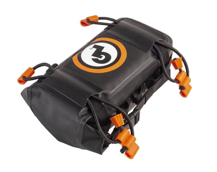 Giant Loop's waterproof fender bag and number plate bag