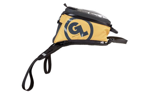 Yellow Fandango tank Bag Pro