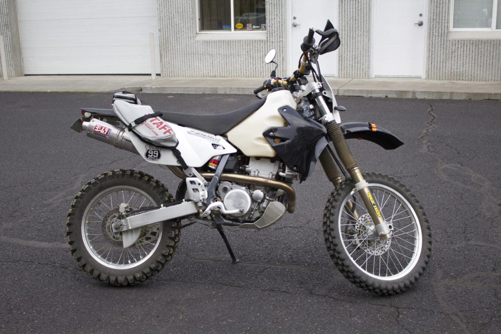 Suzuki DRZ400 Trail Tech Voyager, Race Tech Suspension, Double Take Mirror