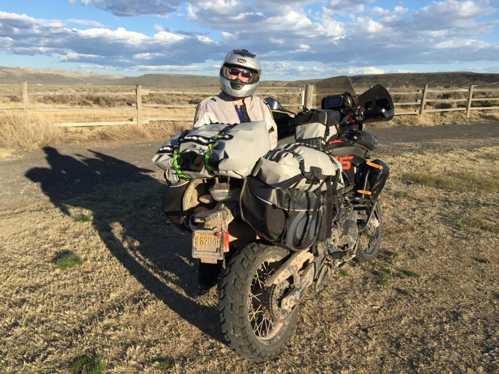 2-up motorcycle travel and camping