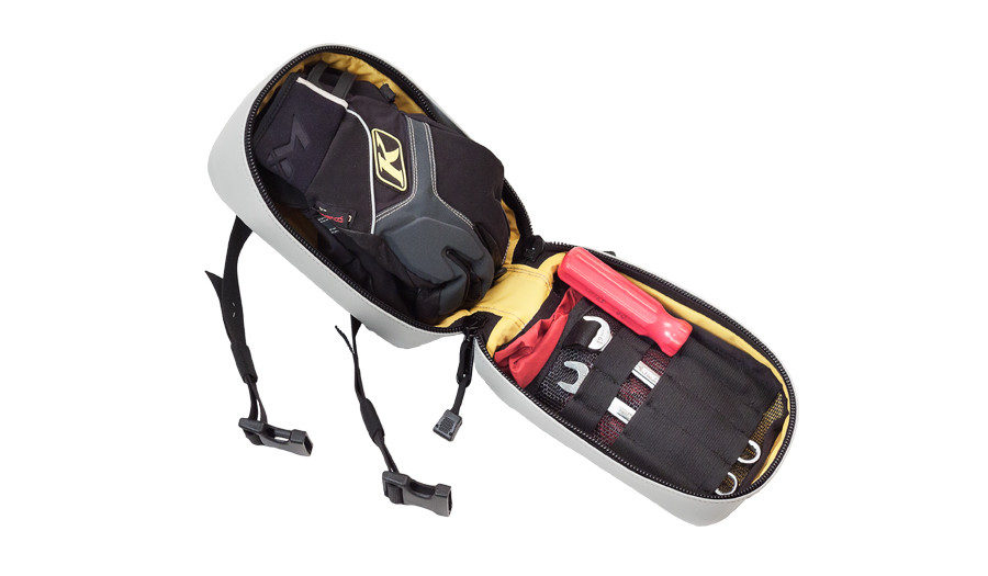 goggles gloves tools gear bag snowmobile timbersled
