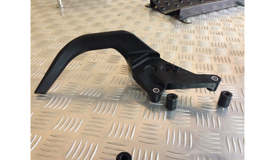 KTM 1190 passenger handles removed