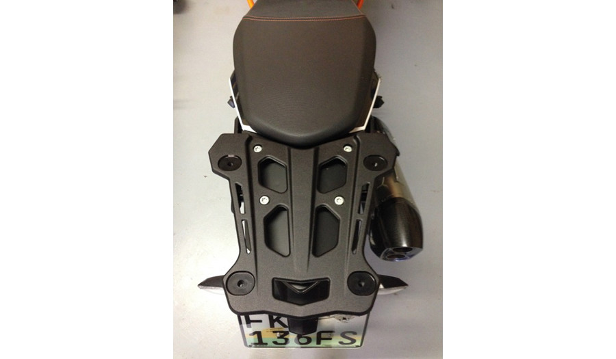 KTM 1190 tail rack no passenger handles
