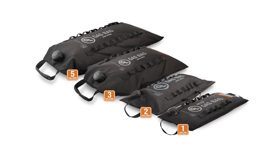 Fuel Safe Gas Bags in 1, 2, 3 and 5 gallon sizes