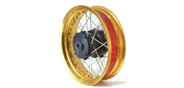rally raid gold spoked wheel kit