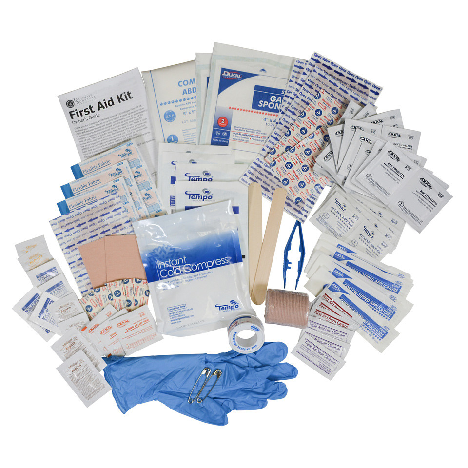 Featherlite First Aid Kit 2.0 Bag Content