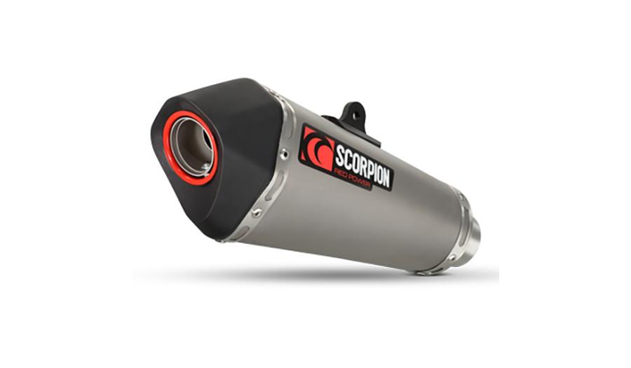 scorpion serket taper exhaust honda cb500 titanium